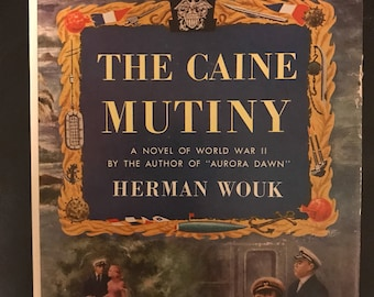 1951 The Caine Mutiny by Herman Wouk book club edition with dust jacket