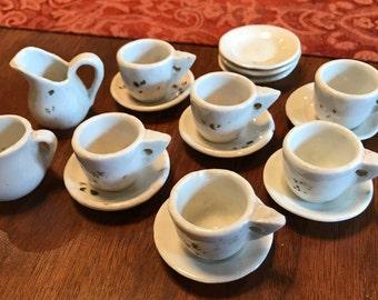 Delightful Antique Doll Tea Set