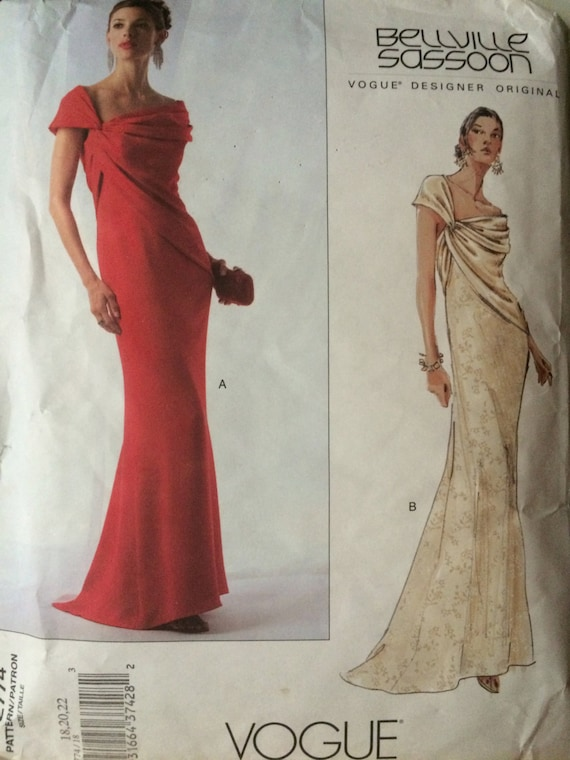 SALE Stunning Designer Evening Gown by Bellville