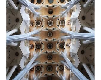 Sagrada Familia Gaudi 2 Barcelona Spain Photo Print