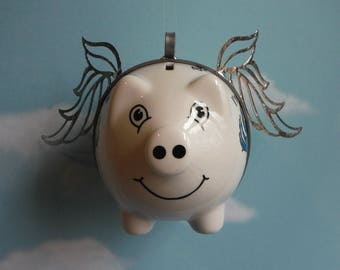 Crabby Flying Pig, Baltimore Maryland Keepsake