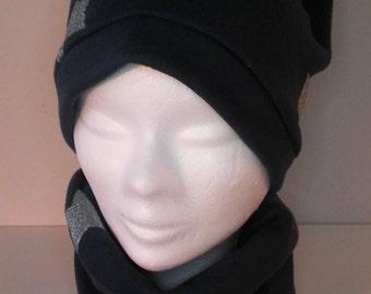 set hat, neck