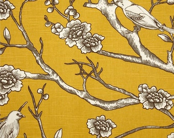 Upholstery Fabric, Drapery Fabric, Bird Fabric, Duvet Fabric, Slip Cover Fabric, Fabric Yardage, Home Decor Fabric, ExclusiveFabric