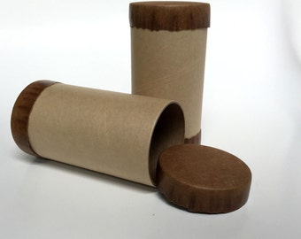 Kraft Paper Tube Container, Paper Tubes, Gift Box, Favor Box, Craft Supply, Supply Box, Cardboard Tube Container