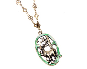 Necklace deers