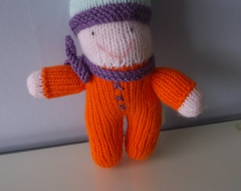 Knitted Rainbow Babies