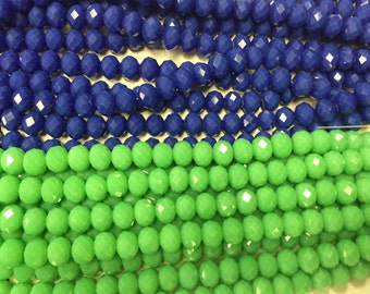 12mm rondelle ,faceted, chinese crystal glass, 26 beads