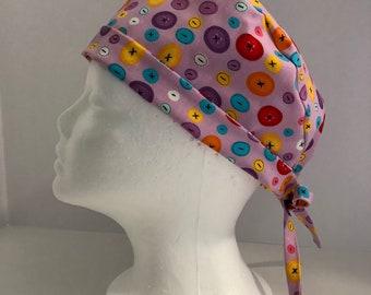 Euro style scrub hat