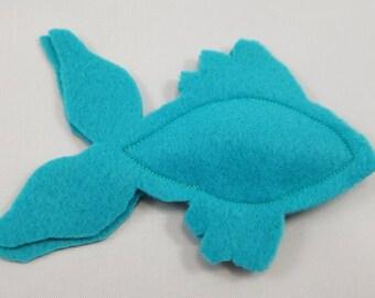 Catnip Fish - Turquoise