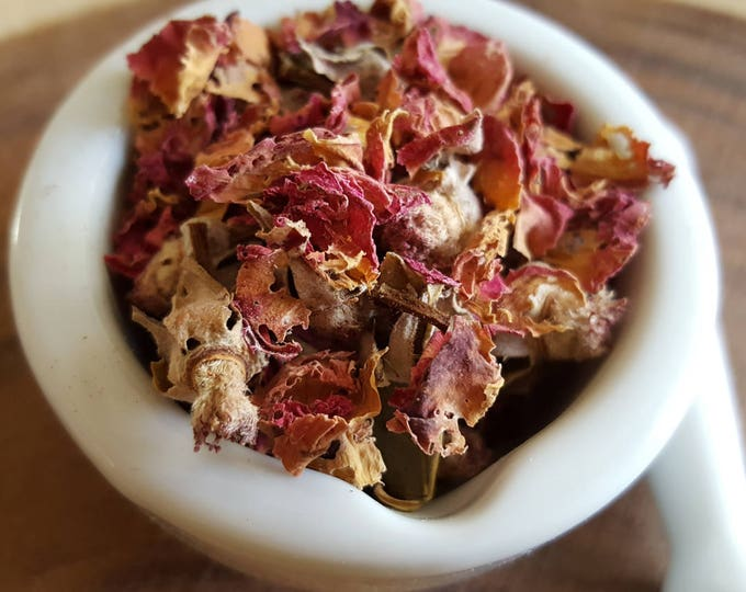 Organic Moroccan Rose Buds (Rosa damascena), Reiki infused