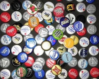 100 beer bottle caps no dents