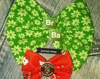 Breaking Bad Sons of Anarchy SOA Hair Bow Set