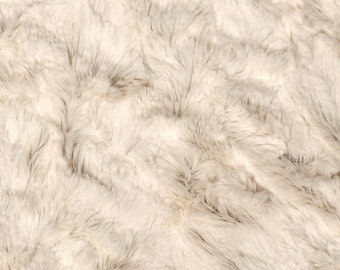 Minky Changing Pad Cover - Ivory or White Crushed Minky,  Faux Fur, Contour Cover