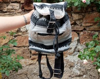 Vintage 90's Woven Mini Backpack