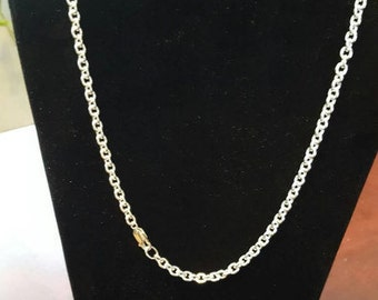 Sterling Silver Cable Chain Made to Order