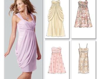 McCall's Sewing Pattern M6508 Misses' lined Dresses  Size:  D5  12-14-16-18-20  Uncut