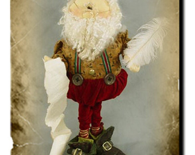 Pattern: Santa's List by Sparkles N Spirit