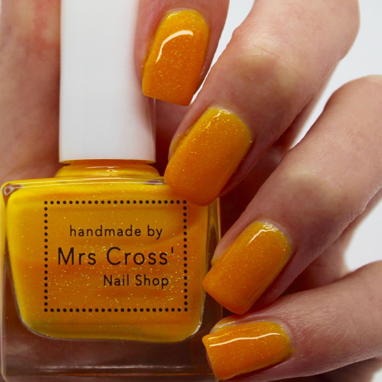 Rock Star - 5-10ml - bright orange nail polish - neon nail polish ...