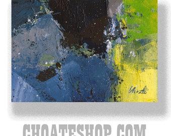 "Abstract Painting. ""Gilman"""