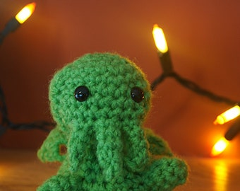 Cthulhu Crocheted Amigurumi