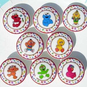 8 set SESAME STREET BEGINNINGS kids boys girls baby mtm bedding Dresser Drawer knobs pulls  sc 1 st  Etsy & Elmo dresser   Etsy