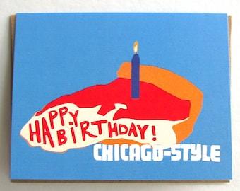 Chicago-Style Birthday Card