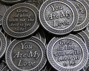 You Are My Love Pocket Tokens - SET OF 10