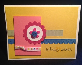 Birthday Wishes greeting card