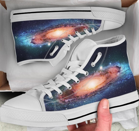 Shoes Shoes Galaxy high High Galaxy Galaxy Looks Women's sneakers Shoes Men's Converse Colorful Top like Sneakers Tops P15pfUpqxw