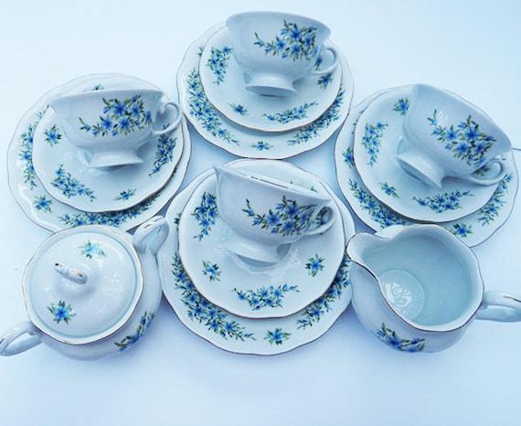 Like this item?  sc 1 st  Etsy & Karolina/Vintage Tea Set/Polish Porcelain/ Tea