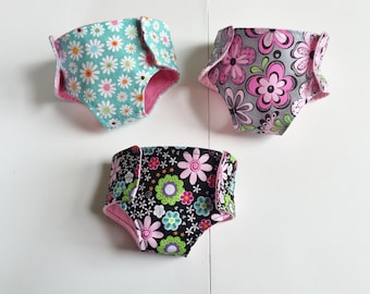 Doll Diapers, Gift under 20, Play Diapers, Pretend Diapers, Baby Doll Diapers, Gifts for Girls, Diapers for Dolls