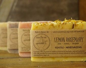 10 Artisan Soaps | All Natural Soap, Handcrafted Soap, Aromatherapy Soap, Handmade Soap, Essential Oil Soap, Cold Process Soap