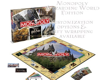 Harry Potter Monopoly Wizarding World