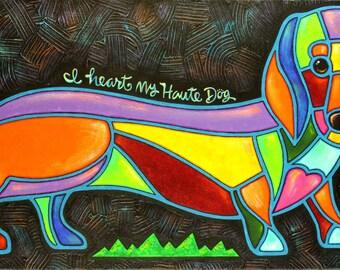 I Heart My Haute Dog