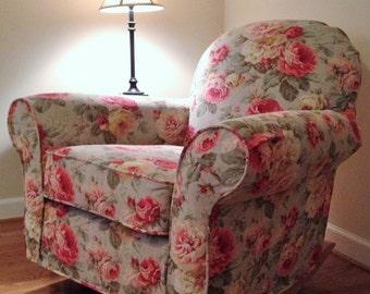 custom slipcovers by diyslipcovers on etsy. Black Bedroom Furniture Sets. Home Design Ideas