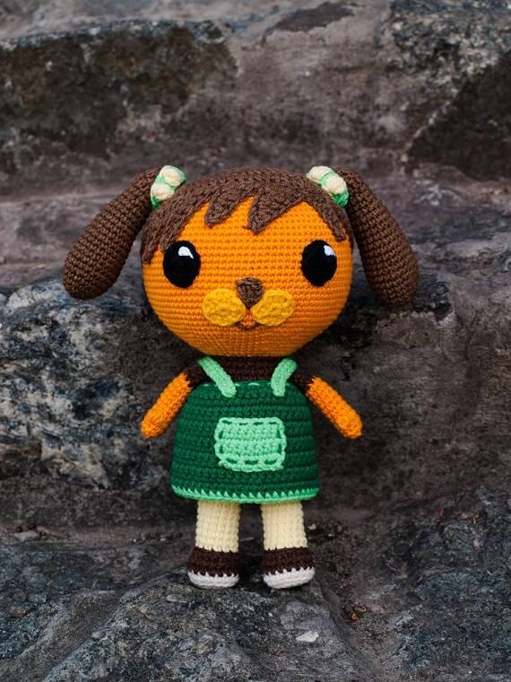 Octonauts Koshi Dog Crochet Toy Amigurumi
