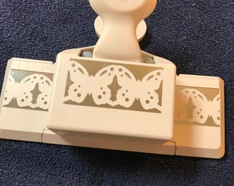 Martha Stewart Punch,Linked Butterfly Trim,Deep Edge,Paper Punches,