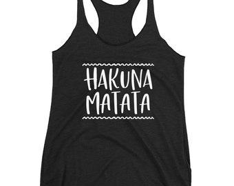 Disney Tank Top, Disney Shirt, Lion King shirt, Hakuna Matata shirt, Tank Top, Lion King tank top, Racerback tank, Animal Kingdom Tank Top