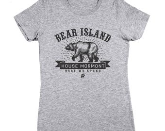 Bear Island House Mormont Got Game Of Thrones Story Women's  T-Shirt DT1903