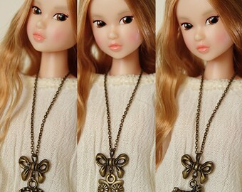Pendant necklace  - Handmade jewerly for Momoko and 1/6 fashion dolls