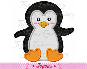 Instant Download Penguin Baby Applique Embroidery Design NO:2429