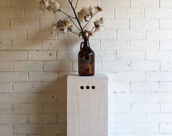 Plinth, pedestal, plant stand