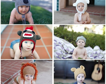 All Elskan Crochet Hats Pattern Bundle