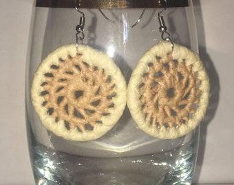 Handmade Woven Earings