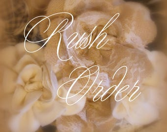 Rush My Order-SHIPS WITHIN 3 DAYS