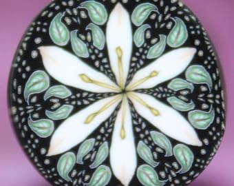Polymer Clay Lily Flower Cane -'Morgan' (29C)