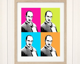 Arrested Development Print, Buster Bluth Print, Arrested Development Art, Buster Bluth Poster