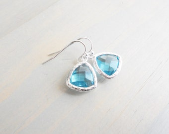 Pool Earrings, Beach Jewelry, Beach Wedding