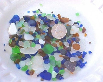 4 ounces of assorted Lake Erie Beach Glass