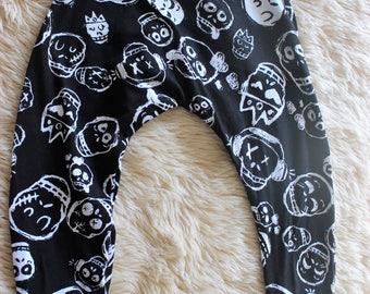 Skulls Harem Pants Sizes 1 & 2